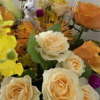 素敵なお花を頂きました♪よく見ると・・・